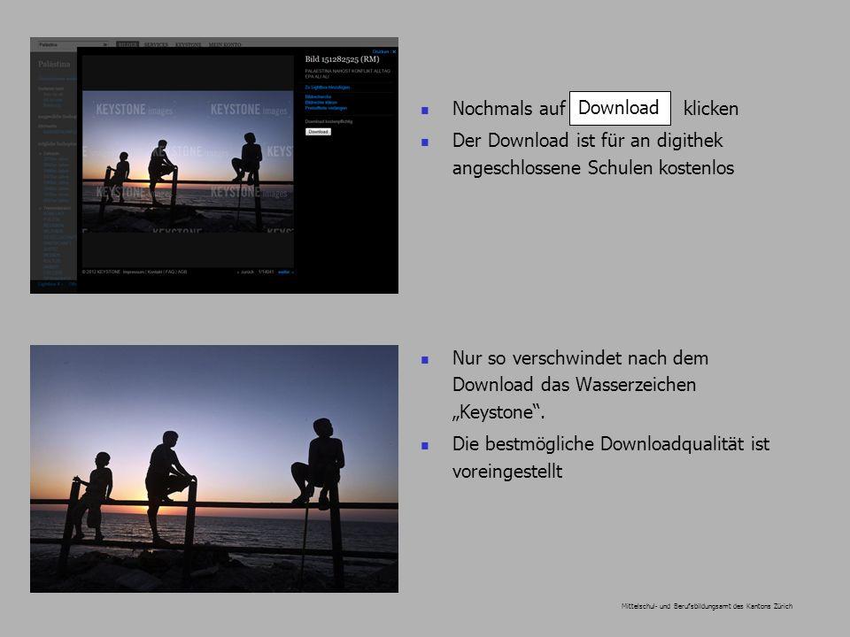 Mittelschul- und Berufsbildungsamt des Kantons Zürich Nochmals auf klicken Der Download ist für an digithek angeschlossene Schulen kostenlos Nur so verschwindet nach dem Download das Wasserzeichen Keystone.
