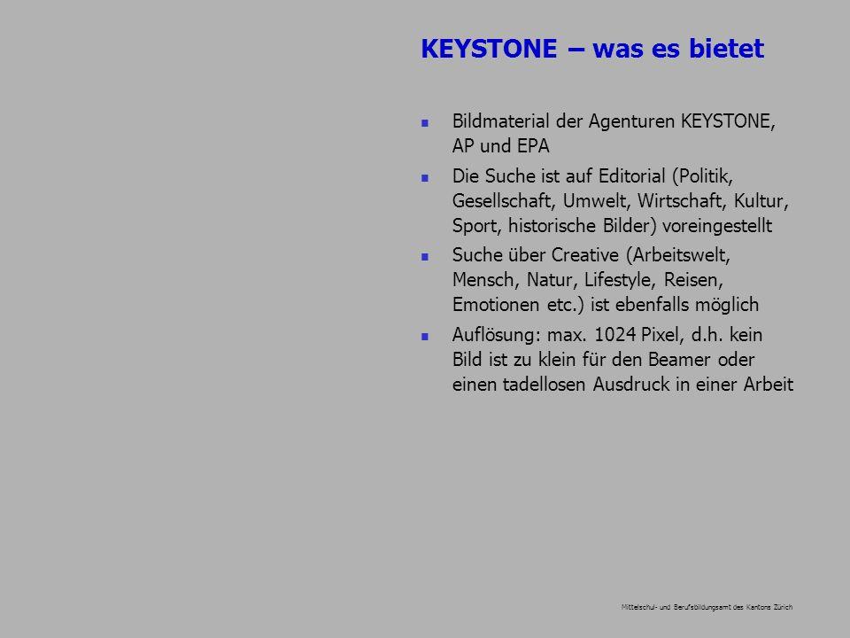 Mittelschul- und Berufsbildungsamt des Kantons Zürich Quellenangabe minimal: KEYSTONE; besser: KEYSTONE plus die Bildnummer.