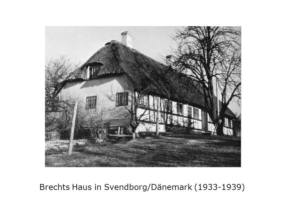 Brechts Rollbild des Zweiflers, das ihn auf allen Exilstationen begleitete