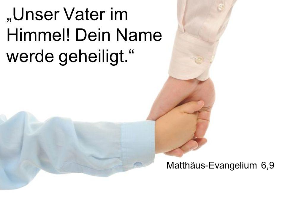 I. Unser Vater