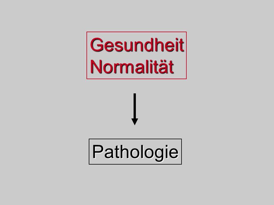 Pathologie Gesundheit Normalität