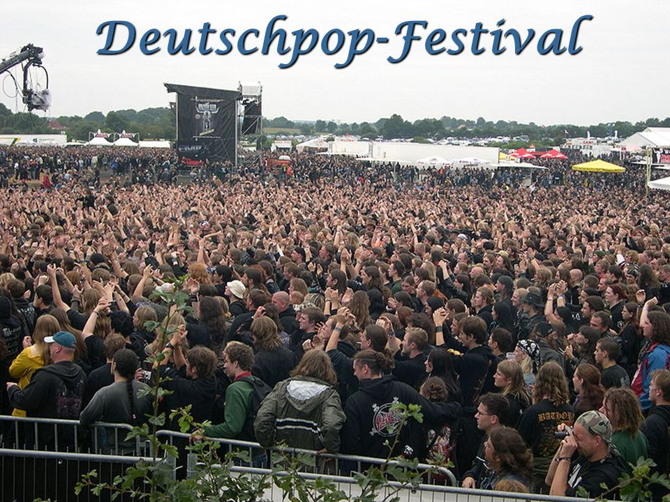 Deutschpop-Festival