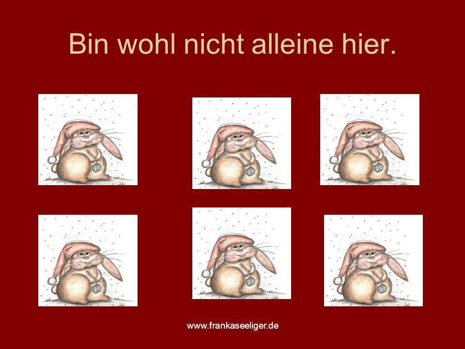 www.frankaseeliger.de Bin wohl nicht alleine hier.