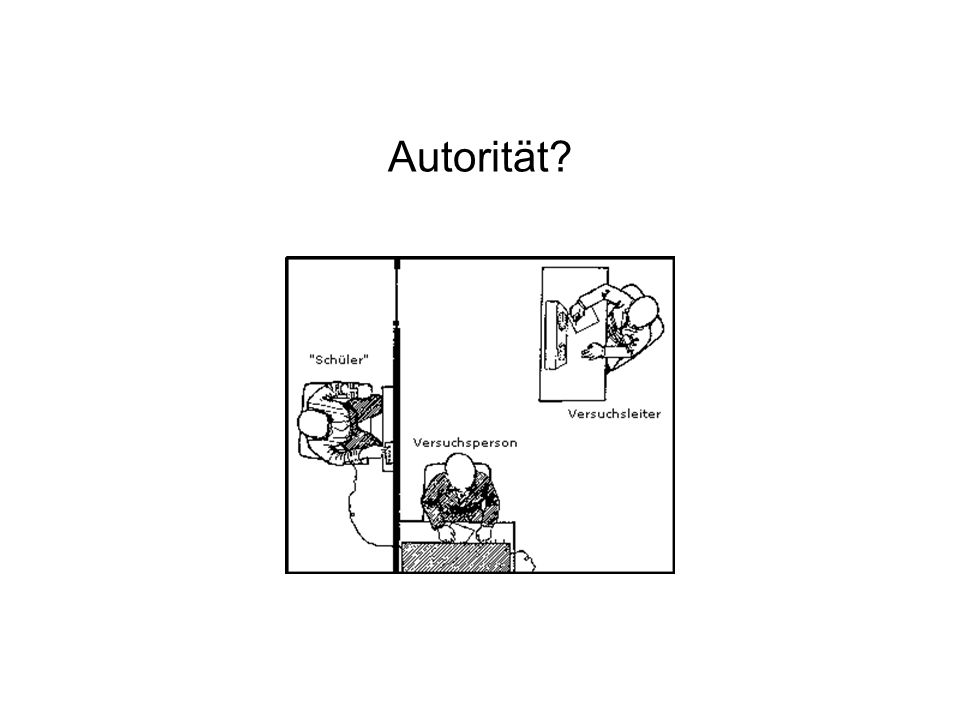 Autorität?