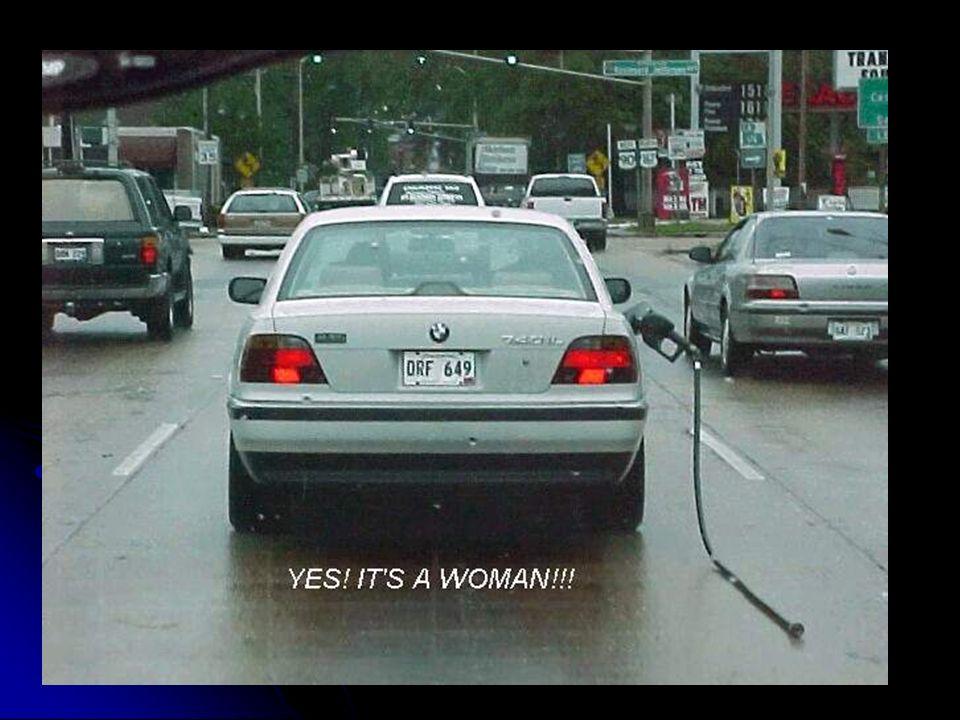 Frauen können aber nicht nur hervorragend fahren und parken. Auch das Tanken übernehmen viele Frauen schon selbst