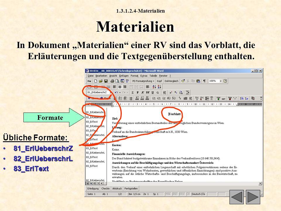 1.3.6.4-Status Status Der Status gibt Auskunft über den Zustand des Dokuments innerhalb des Workflows.