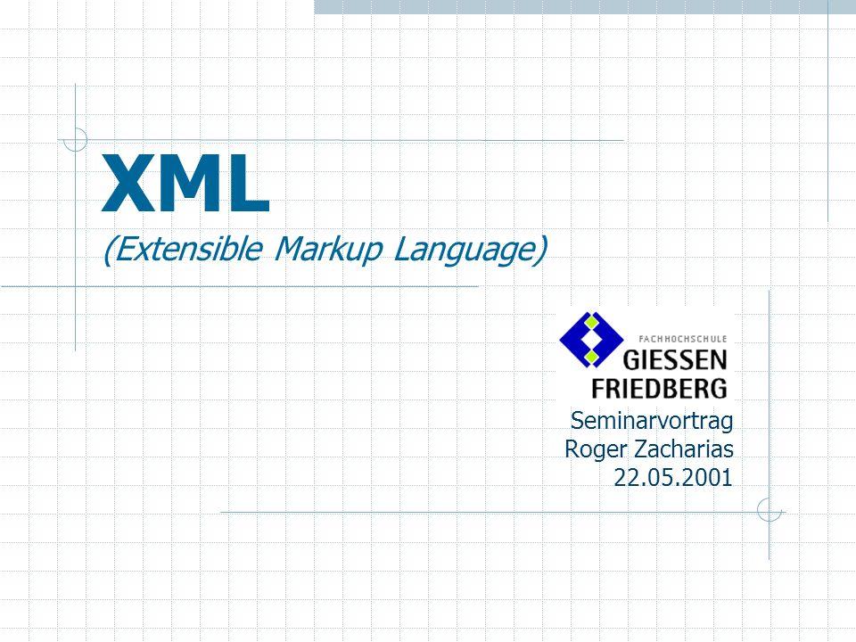 Agenda 2.Was ist und wozu dient XML. 3. XML/XSL – Die Technik 4.