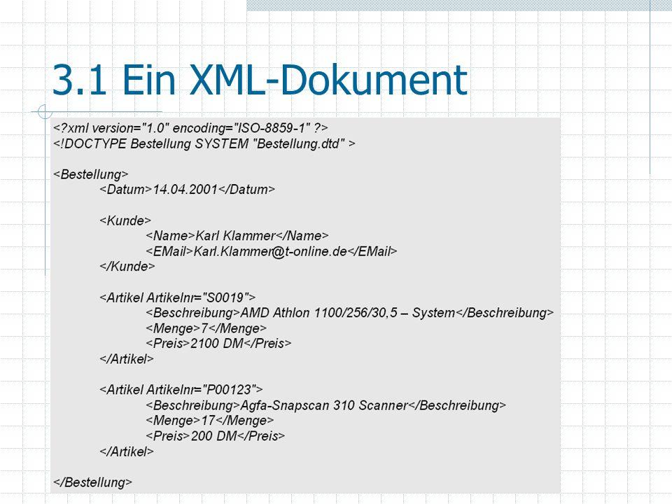 4.1 Anwendungsgebiete E-Business: ebXML, OTP, BizTalk,...