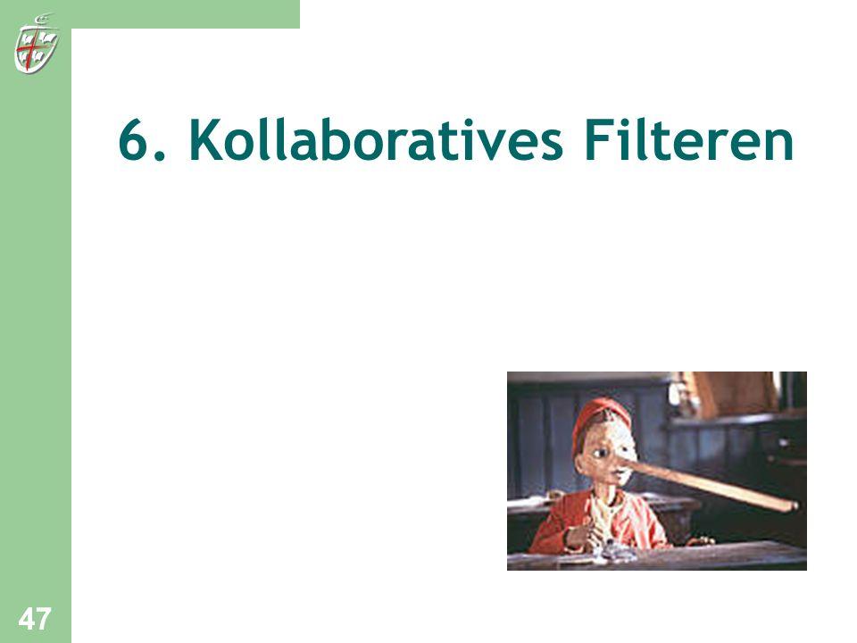 6. Kollaboratives Filteren 47