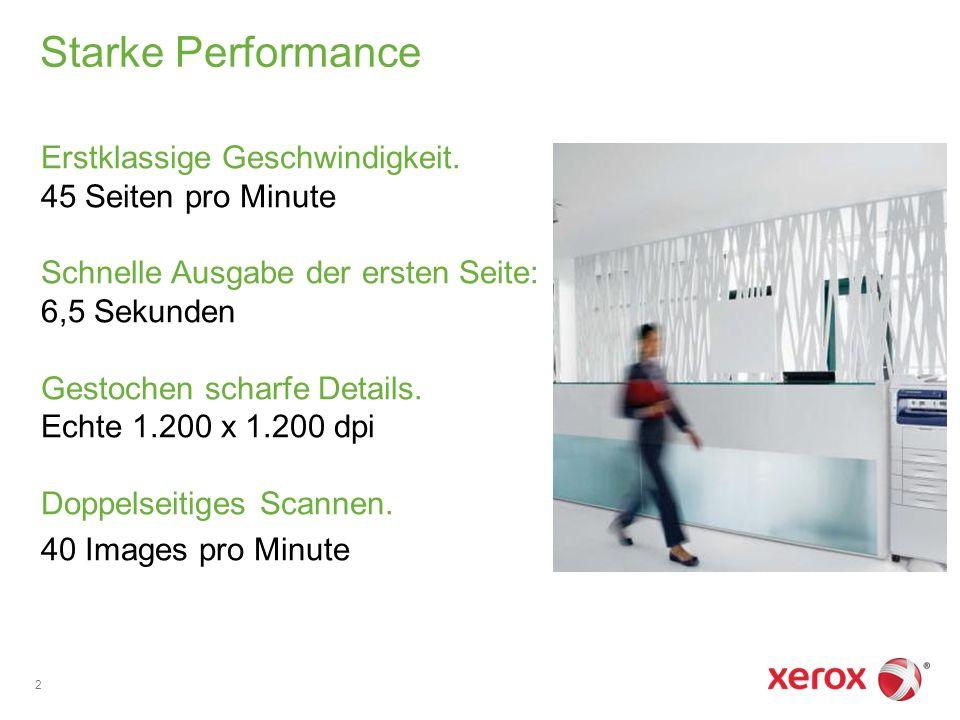 Starke Performance Erstklassige Geschwindigkeit.