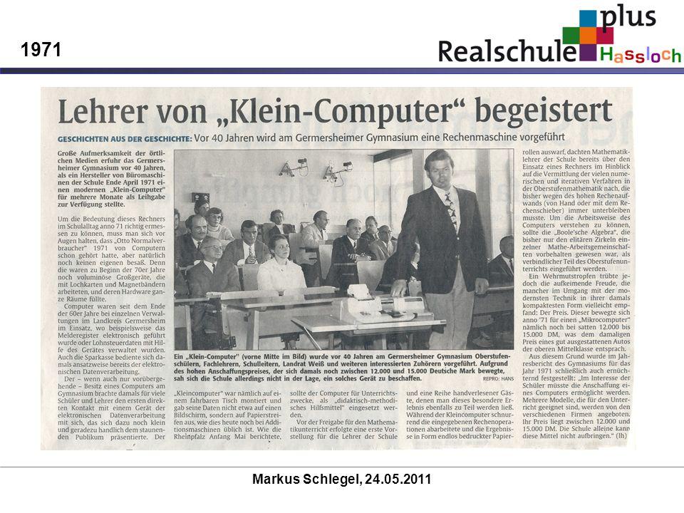 Markus Schlegel, 24.05.2011 1971