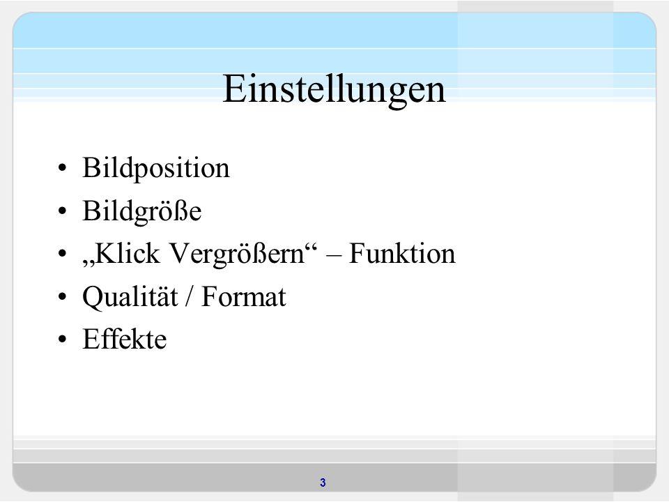 4 Dynamische Grafiken – Der GIFBUILDER GIFBUILDER-Objekte können in IMAGE- Objekten von TYPO3-Templates, statt der Angabe einer fixen Grafik in Form des Dateipfades, verwendet werden.