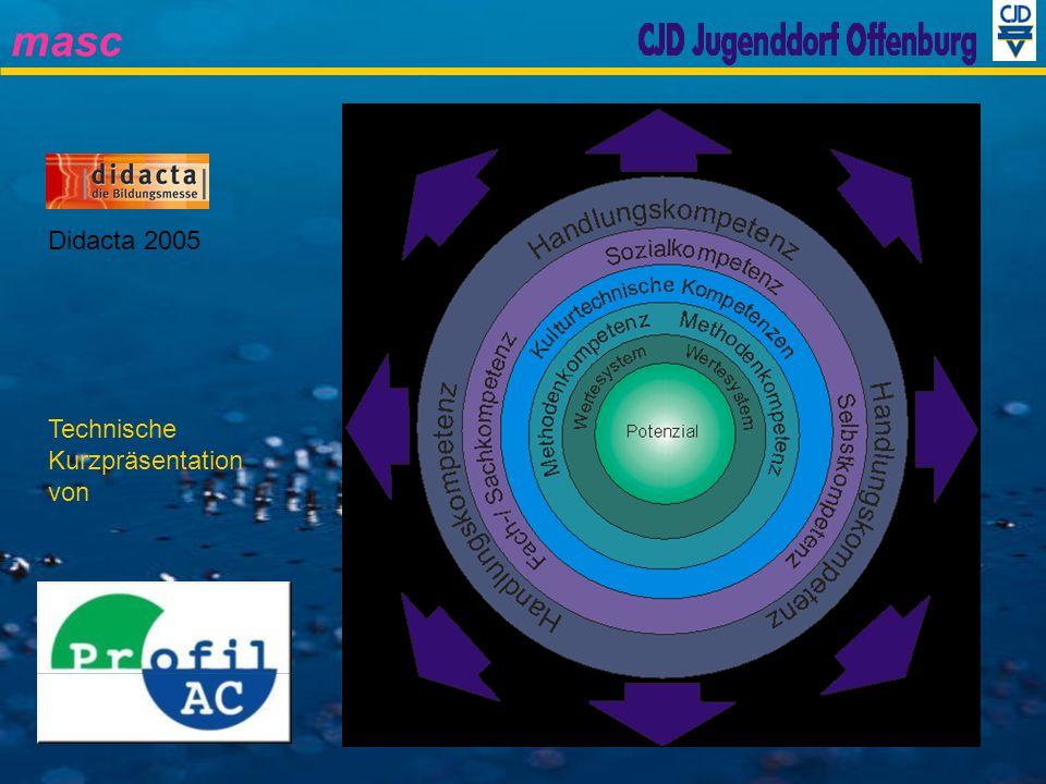 masc Didacta 2005 Technische Kurzpräsentation von