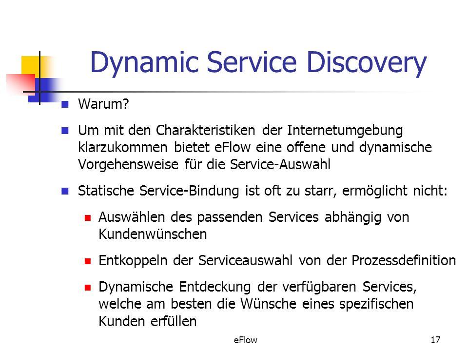 eFlow17 Dynamic Service Discovery Warum.