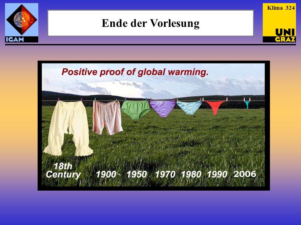 Ende der Vorlesung Klima 324