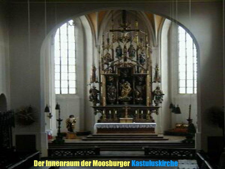 Der Innenraum der Moosburger Kastuluskirche
