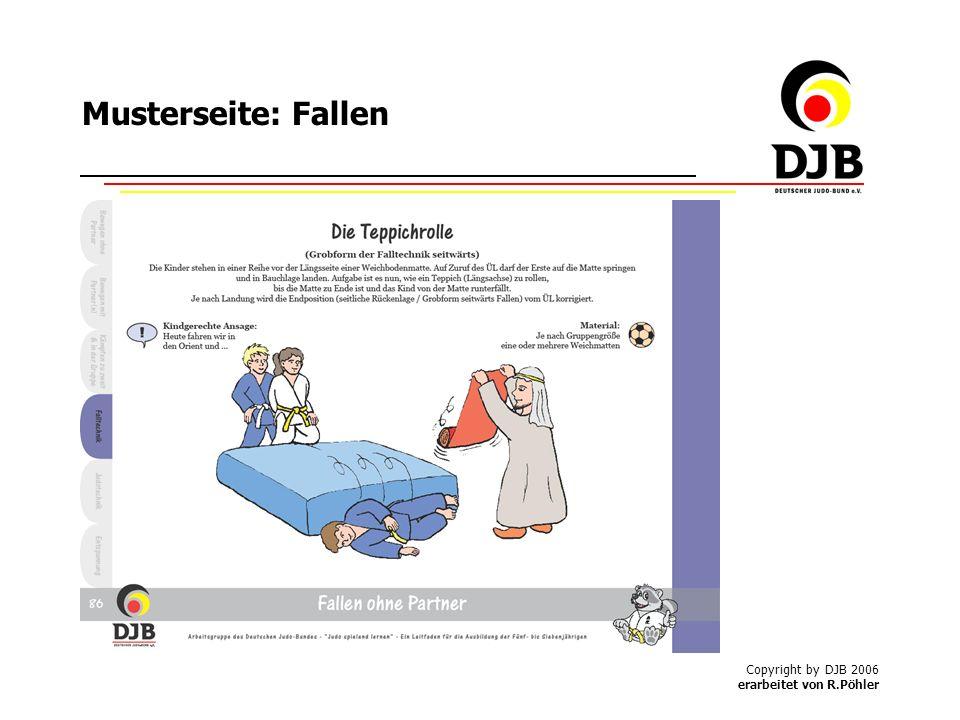 Copyright by DJB 2006 erarbeitet von R.Pöhler Musterseite: Fallen