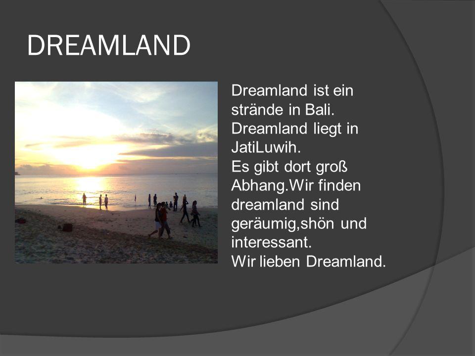 DREAMLAND Dreamland ist ein strände in Bali. Dreamland liegt in JatiLuwih.