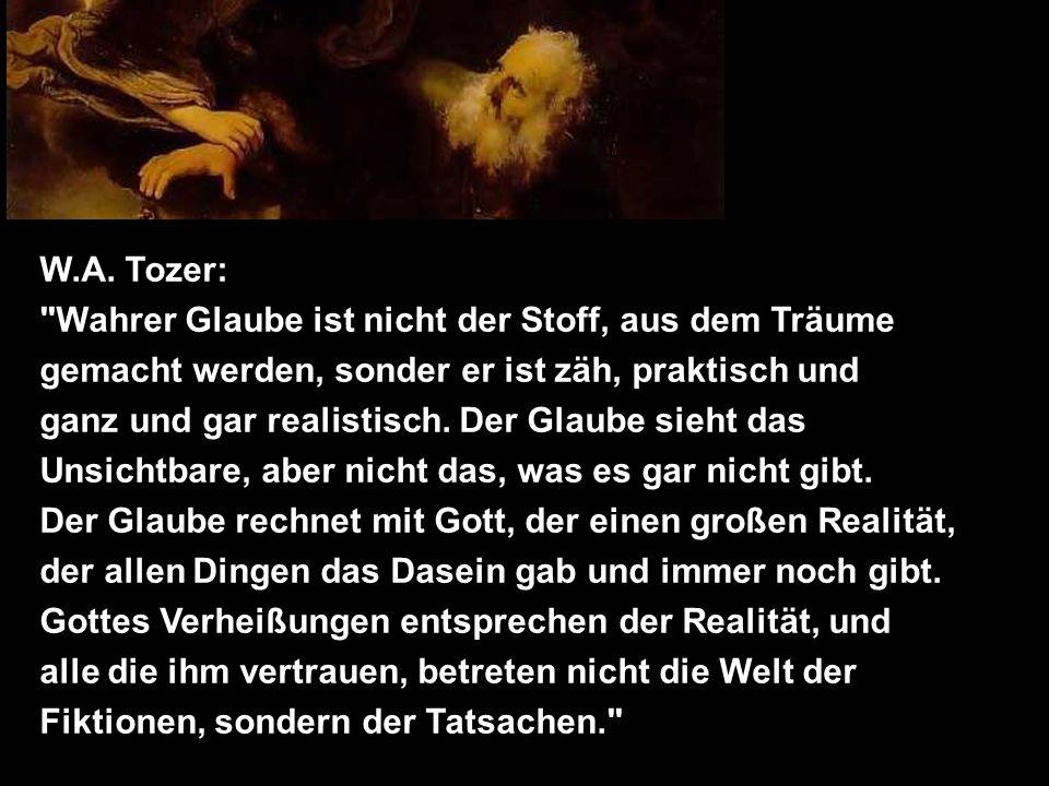 W.A. Tozer:
