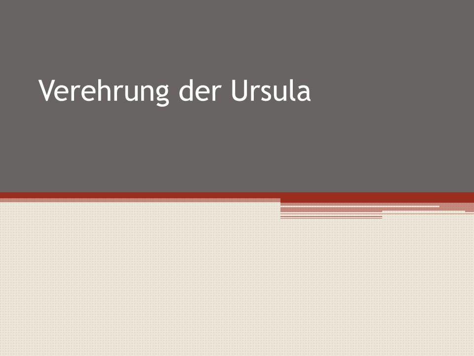 Verehrung der Ursula