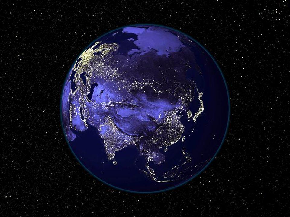 SPEKTAKULÄR.Ein Satelittenphoto über Afrika und Europa an einem wolkenlosen Tag.