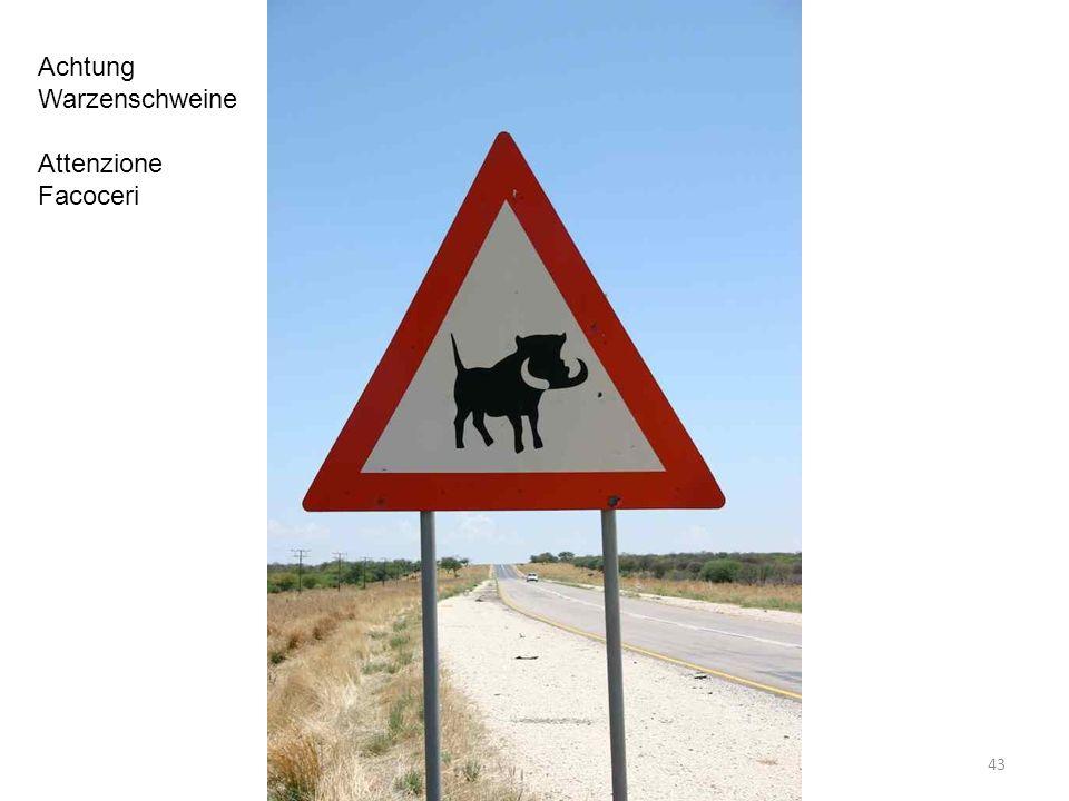 Achtung Warzenschweine Attenzione Facoceri 43