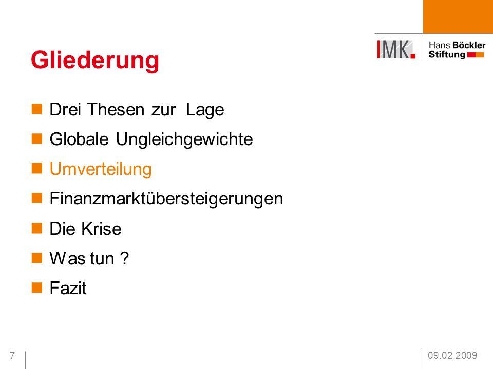 09.02.20098 Ungleichheit in Deutschland Quelle : SOEP aus : Grabka, M.