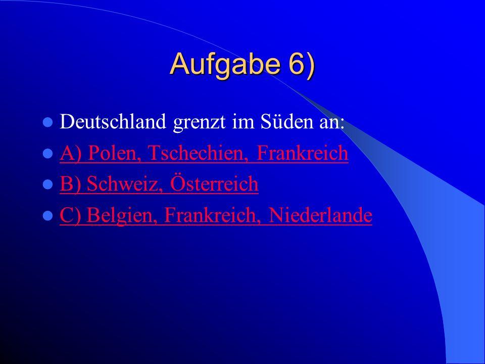Falsch Polen grenzt an drei deutsche Bundesländer: Mecklemburg – Vorpommern, Brandenburg und Sachsen.