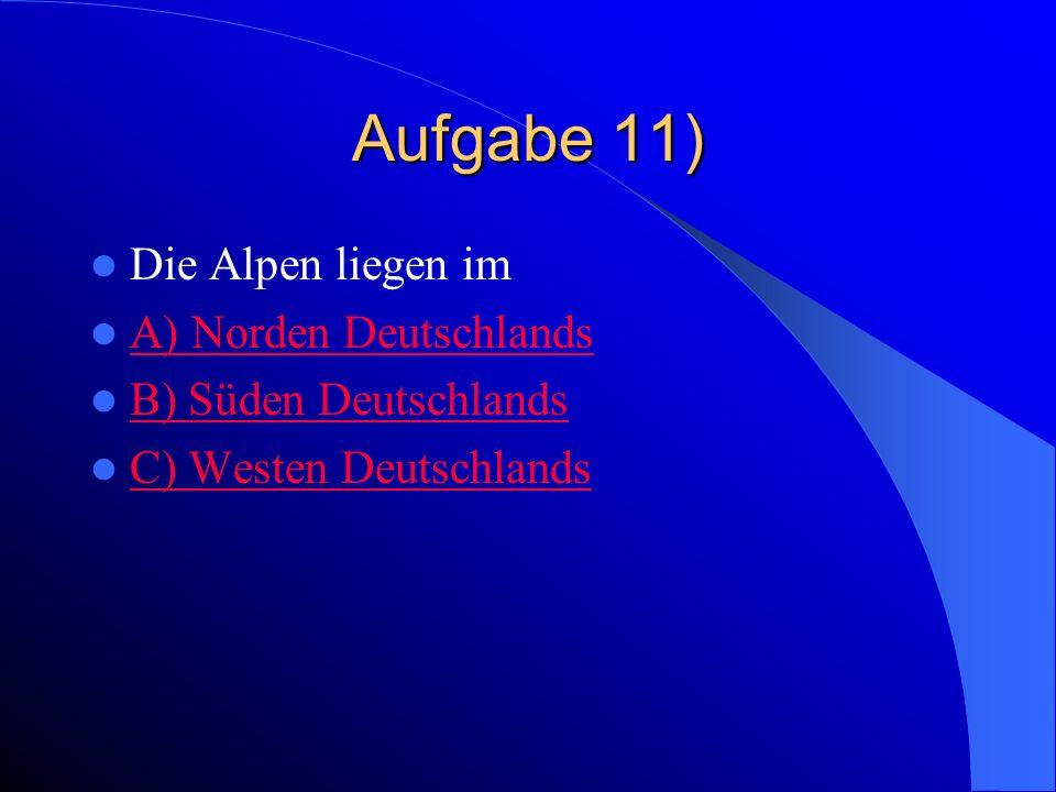 Falsch. Die höchste Bergspitze in Deutschland ist die Zugspitze.