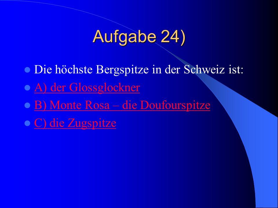 Falsch Die größte Stadt in der Schweiz ist Zürich. Bern ist die Hauptstadt. In Lousanne leben etwa 126.000 Einwohner.