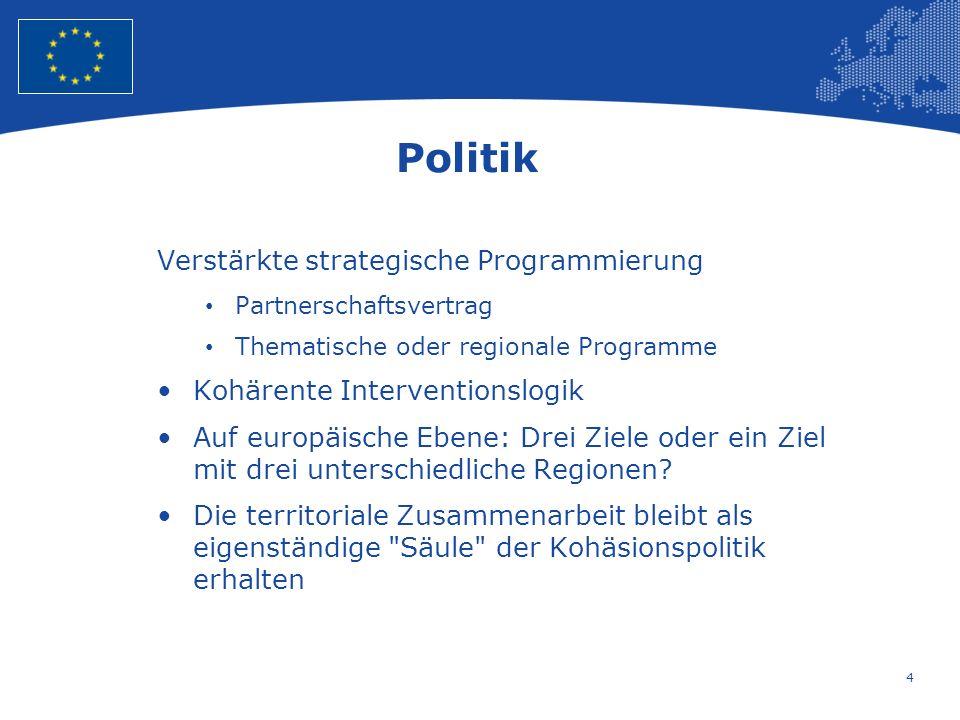 5 European Union Regional Policy – Employment, Social Affairs and Inclusion Vielen Dank für Ihren Aufmerksamkeit und viel Erfolg