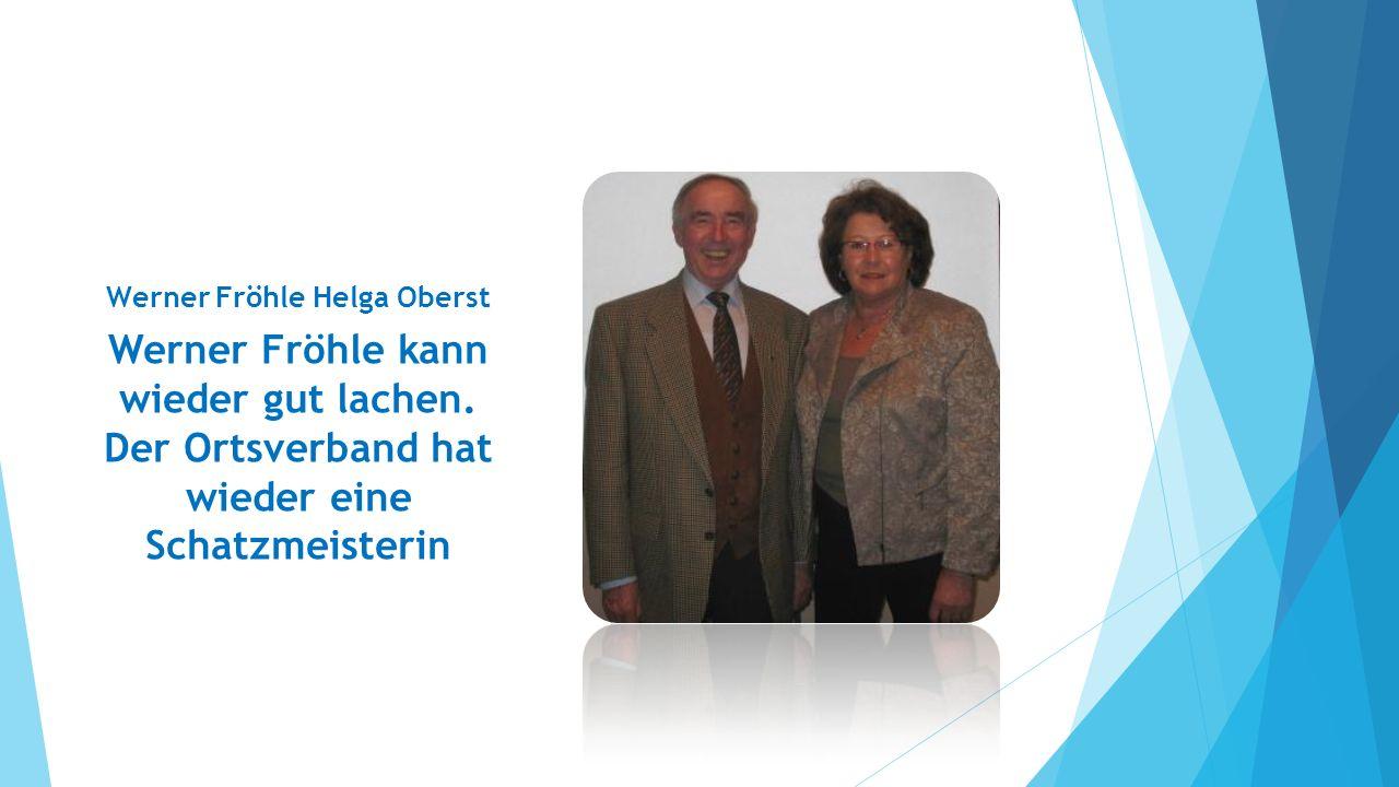 Herzlich Willkommen, Helga! Gute Zusammenarbeit.