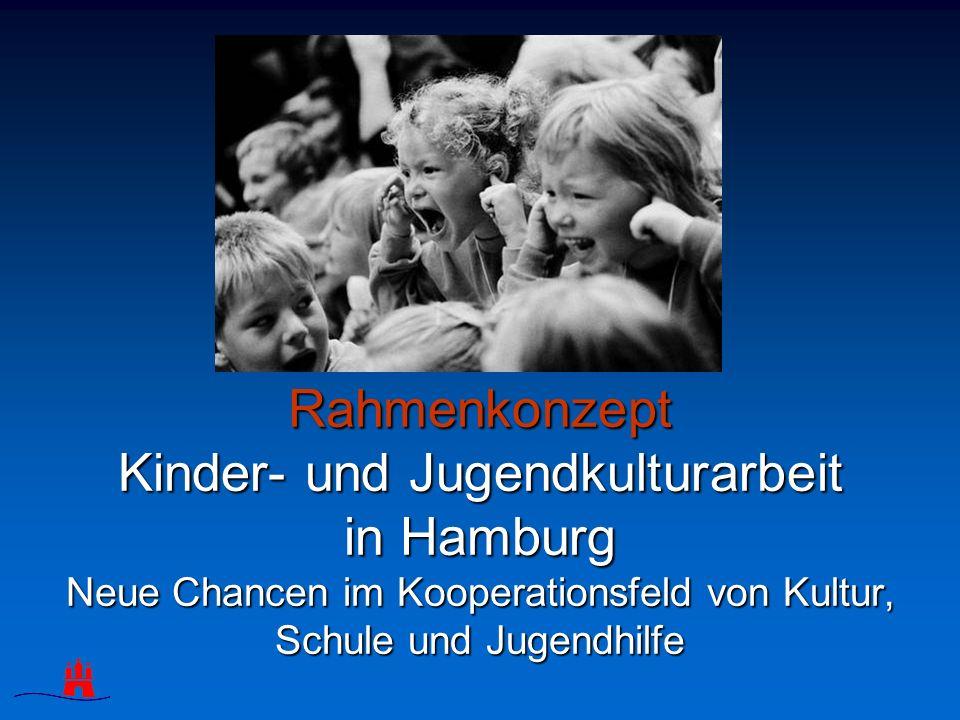 Rahmenkonzept Kinder- und Jugendkulturarbeit in Hamburg Neue Chancen im Kooperationsfeld von Kultur, Schule und Jugendhilfe