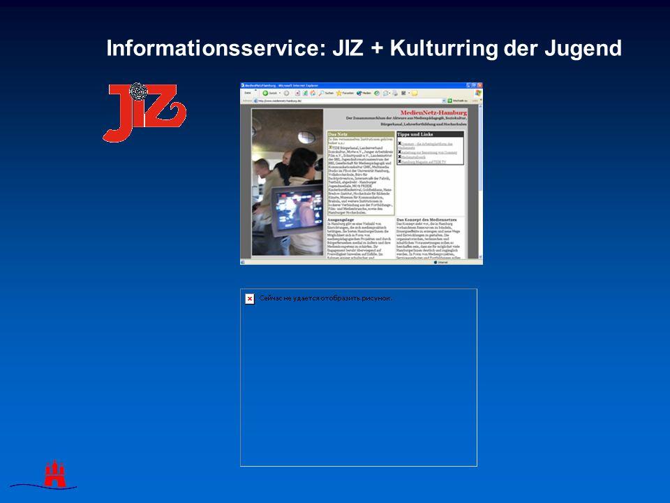 Informationsservice: JIZ + Kulturring der Jugend