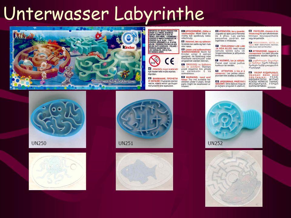 Unterwasser Labyrinthe UN252UN250UN251