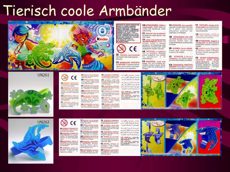 Tierisch coole Armbänder UN262 UN261