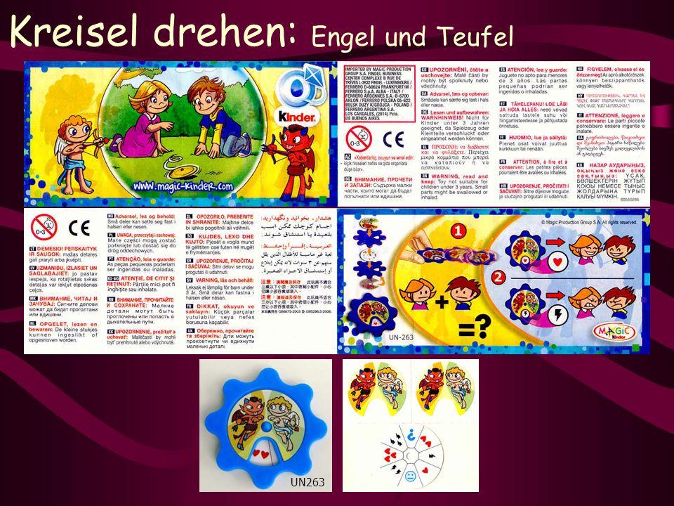 Kreisel drehen: Engel und Teufel UN263