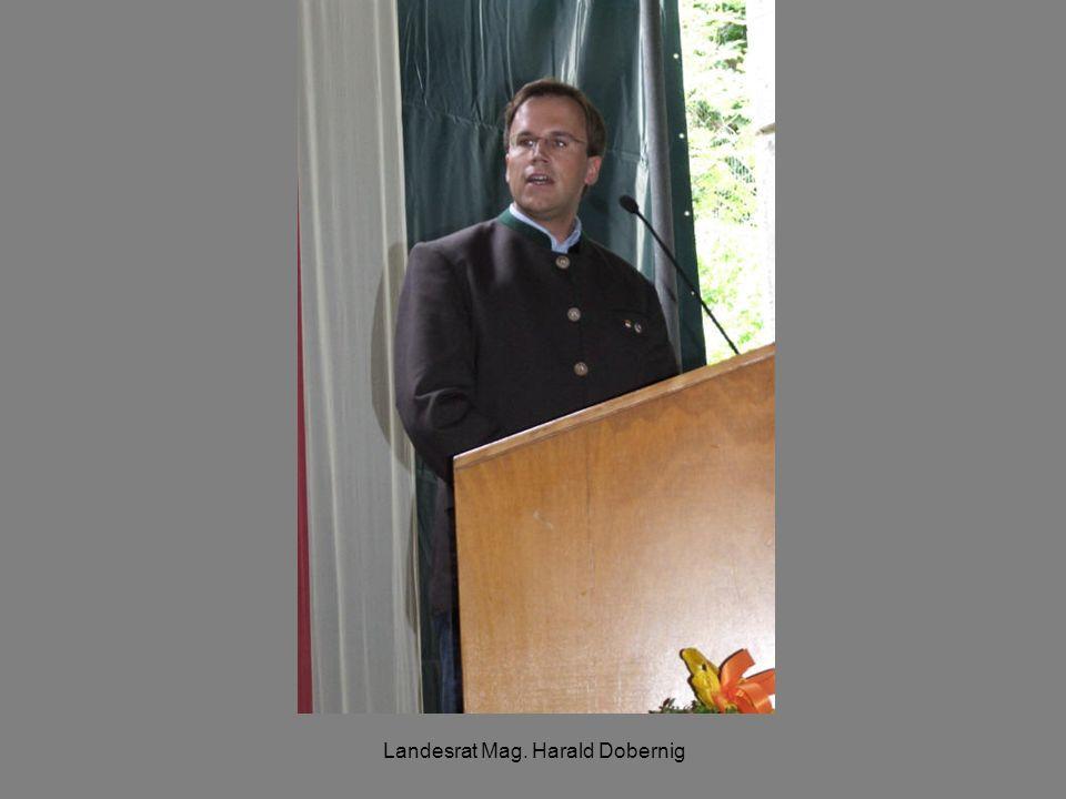 Landesrat Mag. Harald Dobernig