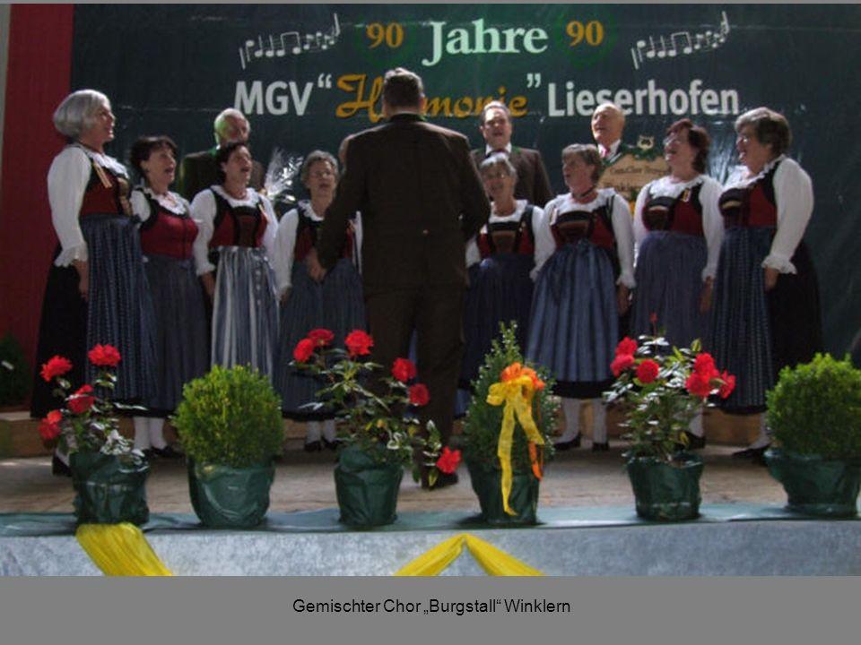 Gemischter Chor Burgstall Winklern