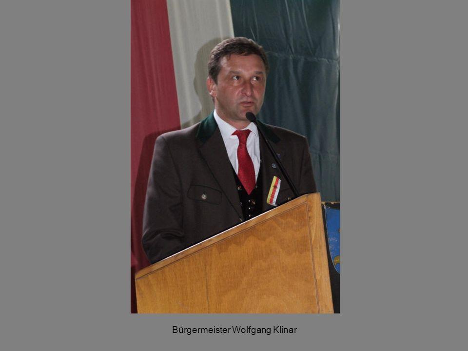 Bürgermeister Wolfgang Klinar