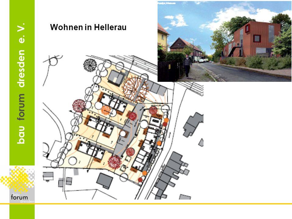 bau forum dresden e. V. Wohnen in Hellerau
