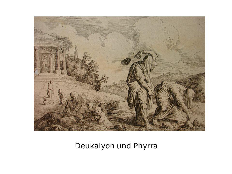 Deukalyon und Phyrra