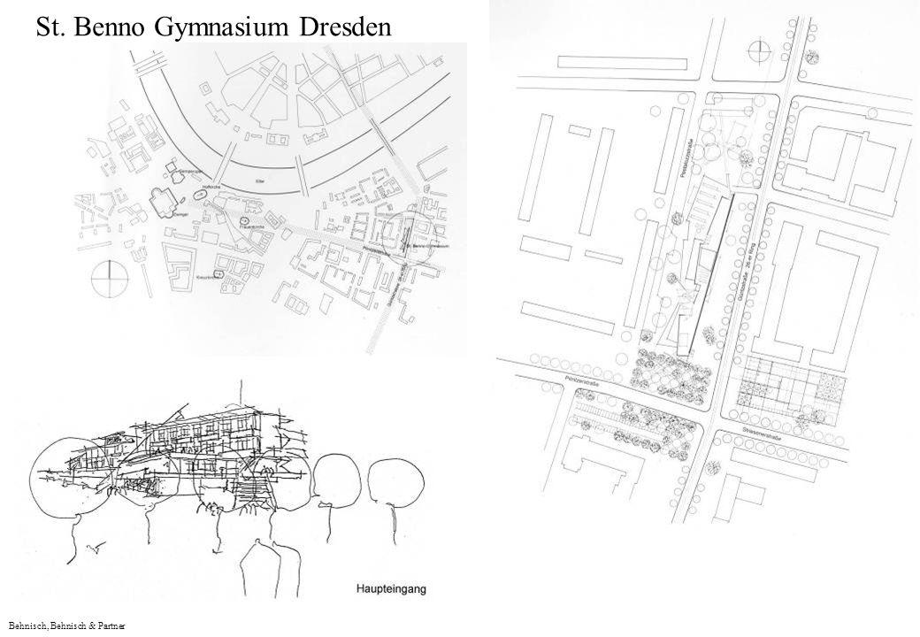 Behnisch, Behnisch & Partner St. Benno Gymnasium Dresden