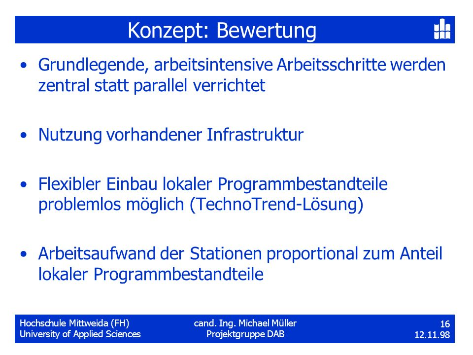 Hochschule Mittweida (FH)cand. Ing.