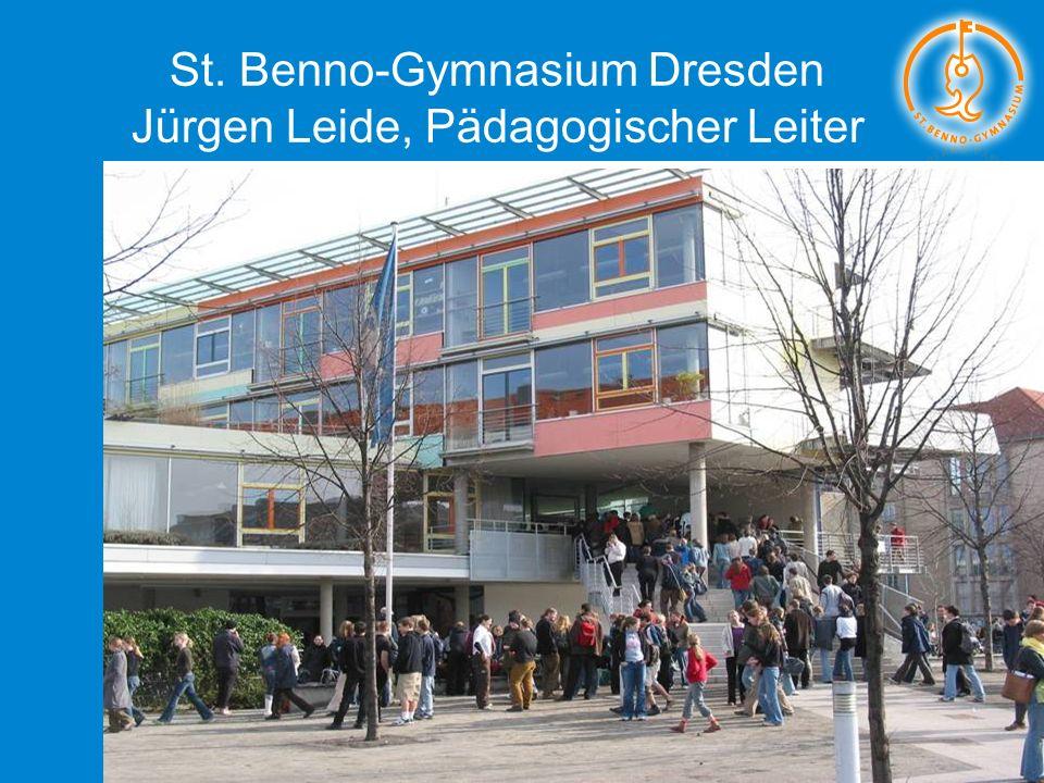 27.11.2011Katholische Elternschaft Deutschlands (KED) Jürgen Leide - St. Benno-Gymnasium Dresden 1 von 20 St. Benno-Gymnasium Dresden Jürgen Leide, Pä