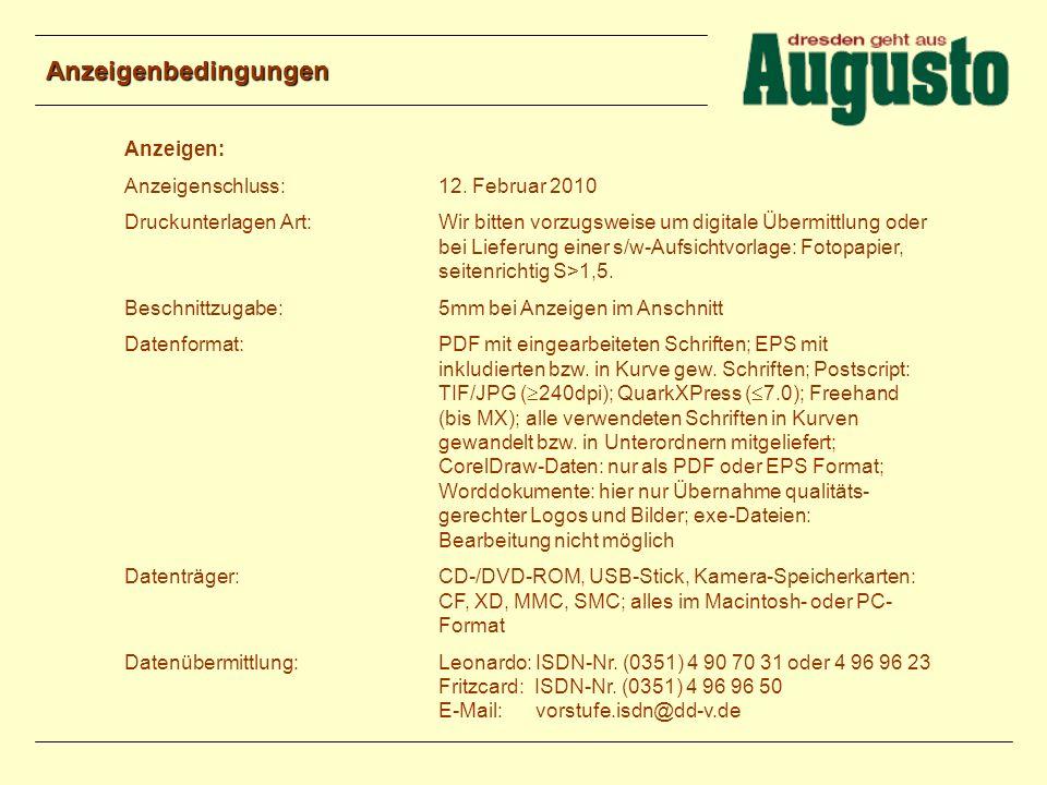 Kontakt Objektleitung: Irene Schuster Ostra-Allee 18 01069 Dresden Tel: 0351 – 48 64 29 02 Fax: 0351 – 48 64 25 63 E-Mail: schuster.irene@dd-v.de