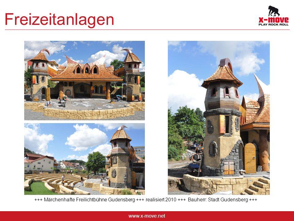 www.x-move.net Freizeitanlagen +++ Märchenhafte Freilichtbühne Gudensberg +++ realisiert 2010 +++ Bauherr: Stadt Gudensberg +++