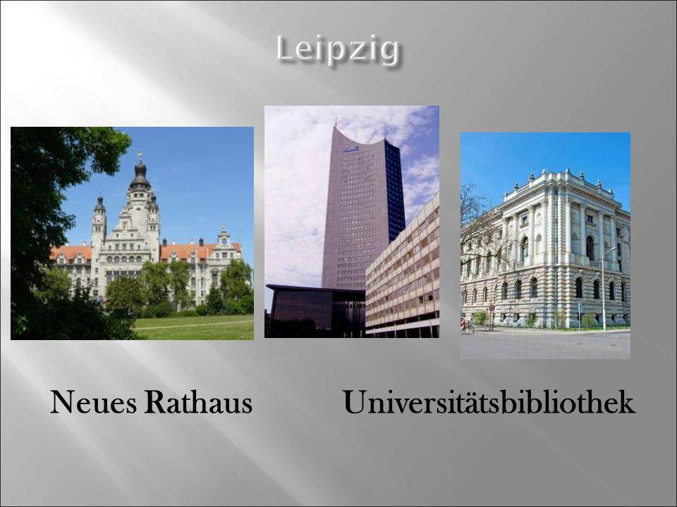 Neues Rathaus Universitätsbibliothek