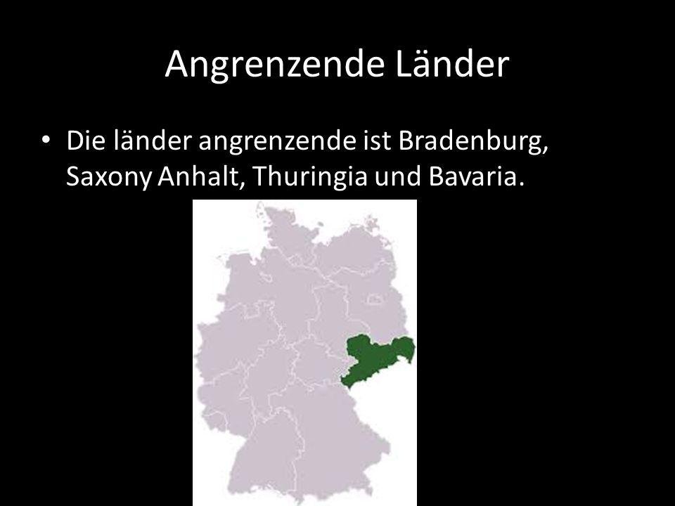Angrenzende Länder Die länder angrenzende ist Bradenburg, Saxony Anhalt, Thuringia und Bavaria.