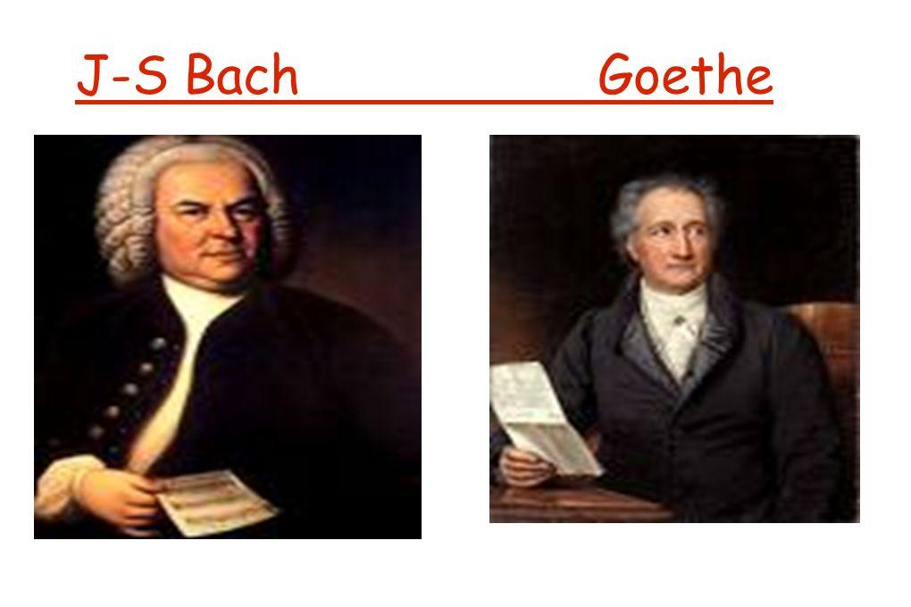 J-S Bach Goethe